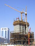 Skyscraper Construction Stock Photo