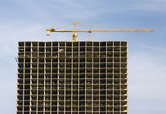 Skyscraper in construction Stock Photo