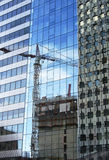 Skyscraper construction Stock Image