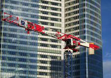 Skyscraper construction Stock Images