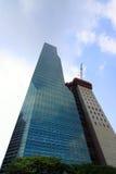 Skyscraper construction Royalty Free Stock Photos