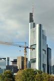 Skyscraper site Stock Image