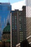 Skyscraper downtown Montreal Stock Image