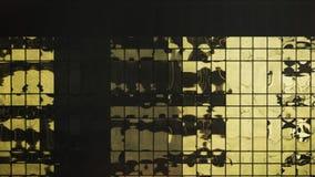 Skyscraper facade closeup Stock Photography