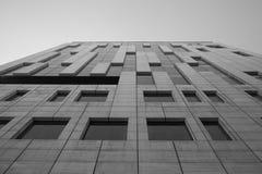 Skyscraper facade vertical Royalty Free Stock Image