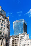 Skyscraper 20 Fenchurch Street in the City of London Stock Photo