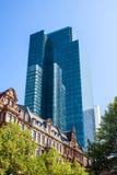 Skyscraper in Frankfurt Stock Image