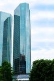 Skyscraper in Frankfurt Stock Photo
