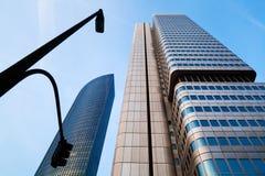 Skyscraper in Frankfurt, Germany Stock Images