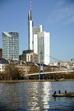 Skyscraper Frankfurt Royalty Free Stock Photo