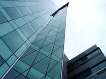 Skyscraper futuristic Stock Image