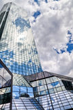 Skyscraper with glass facade Royalty Free Stock Image