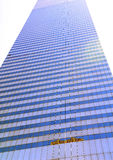Skyscraper of glass and steel Royalty Free Stock Photos