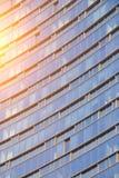Skyscraper glass windows Royalty Free Stock Photography