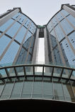 Skyscraper in guangzhou stock photos