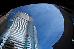 Skyscraper in Hong Kong Royalty Free Stock Photos