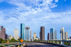 Skyscraper in Houston, Texas Stock Photography