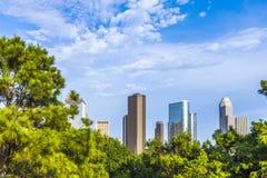 Skyscraper in Houston, Texas Stock Images
