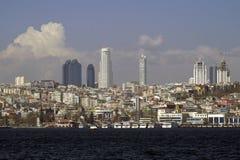 Skyscraper in Istanbul Royalty Free Stock Photo