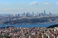 Skyscraper in istanbul Stock Photography