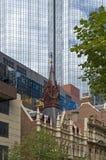 Skyscraper  in Melbourne. Australia. Stock Image