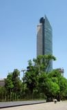 Skyscraper in Mexico city Royalty Free Stock Photos