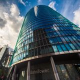 Modern building Potsdamer platz, Berlin royalty free stock photos