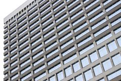 Textured skyscraper windows royalty free stock images