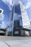 Skyscraper and new office in vilnius Stock Images