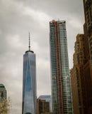 Skyscraper new York city Stock Photo