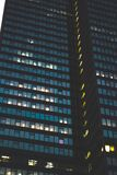 Skyscraper at night Royalty Free Stock Images