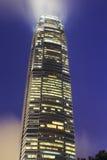 Skyscraper night Royalty Free Stock Photography
