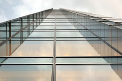Skyscraper, office building. With glass walls Stock Images