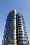Skyscraper office building made of glass and steel Royalty Free Stock Image