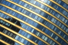Skyscraper, office building, windows Royalty Free Stock Image