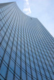Skyscraper with an open window royalty free stock image