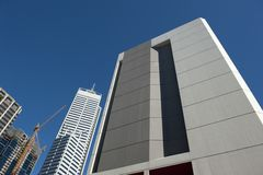 Skyscraper Perth Business District Stock Photos