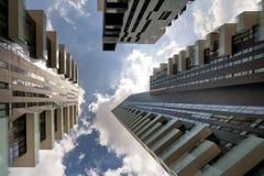 Skyscraper at Porta Nuova in Milan, Italy Stock Images