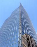 Skyscraper with reflection stock images