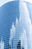 Skyscraper with reflections Royalty Free Stock Image