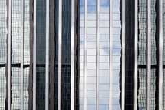 Skyscraper reflections Royalty Free Stock Photography
