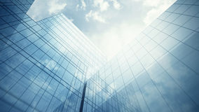 Skyscraper's exterior Stock Image