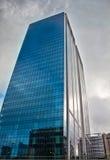 Skyscraper Scene in Rotterdam Stock Photo