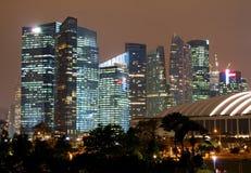 Skyscraper of Singapore Royalty Free Stock Photos