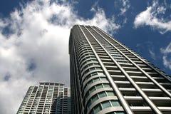Skyscraper and Sky Royalty Free Stock Photos