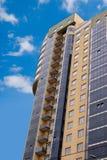 Skyscraper on sky background Stock Image