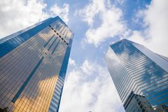 Skyscraper and Sky Stock Images