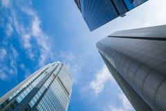 Skyscraper and Sky Stock Image