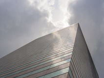 Skyscraper and Sky View Stock Image