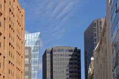 Skyscraper skyline Stock Image